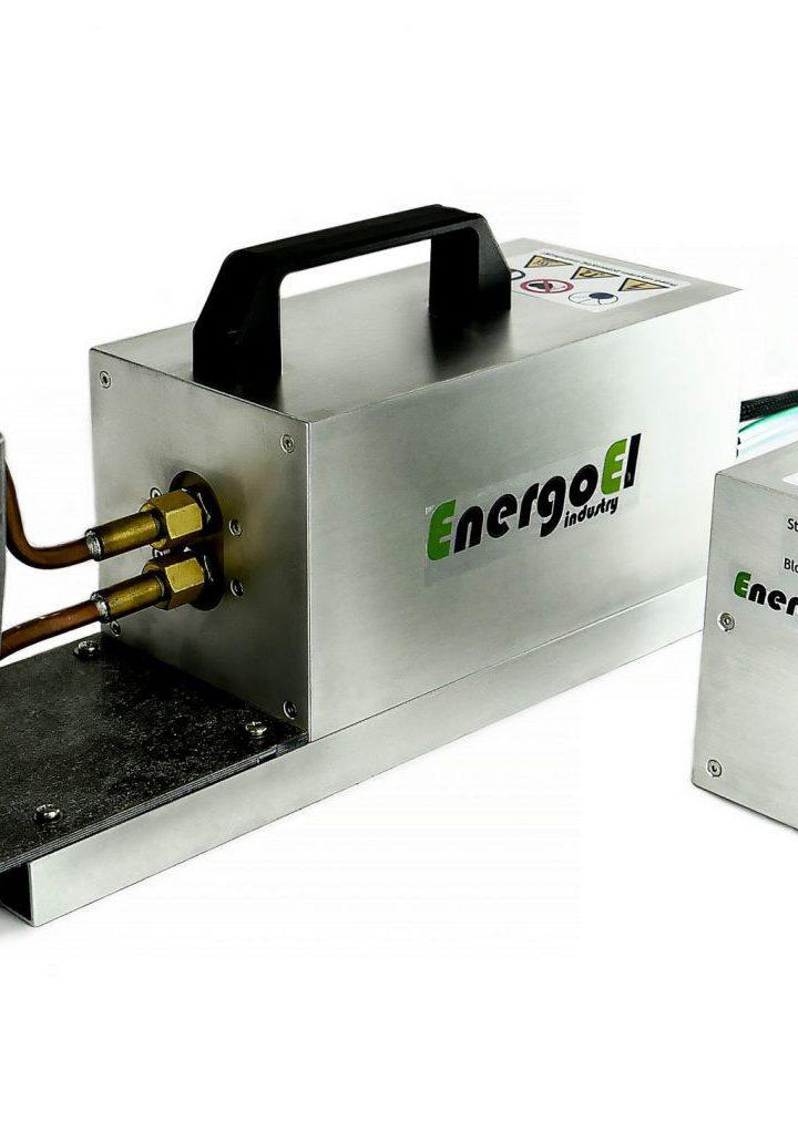 Unowocześniona nagrzewnica indukcyjna IHM jako przykładowy z czołowych produktów firmy Energoel